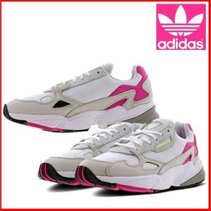 Adidas Falcon Retro Chunky Dad Pink Sneakers